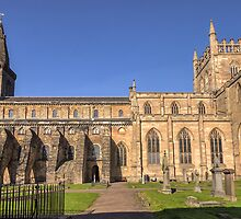 Dunfermline Abbey and Graveyard, Fife by Miles Gray