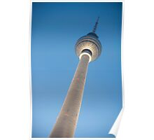 Alexanderplatz Tower in Berlin, Germany Poster