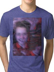 Scary Creaky Boy Tri-blend T-Shirt
