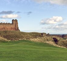 Tantallon Castle, North Berwick. Scotland by Miles Gray