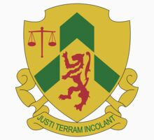796th Military Police Battalion - Justi Terram Incolant - The Just Shall Inherit The Earth by VeteranGraphics
