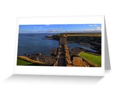 Looking Towards the East Tower, Tantallon Castle. Scotland Greeting Card