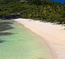 Idyllic Fiji beach by photoeverywhere