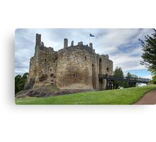 The 13th-century Keep, Dirleton Castle, Scotland Canvas Print