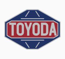 Original Toyota logo - 'Toyoda' Sticker by TERRAOperative