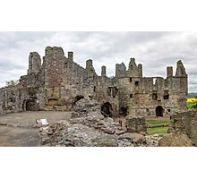 The Ruins of Dirleton Castle. Scotland (Panoramic) Photographic Print