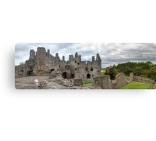 The Grand Hall and North Facade, Dirleton Castle Canvas Print