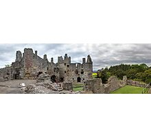 The Grand Hall and North Facade, Dirleton Castle Photographic Print
