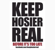 Keep Hosier Real - fb by studioButcher