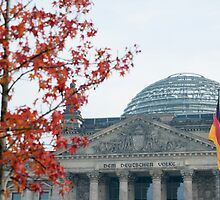 Reichstag building , Berlin by photoeverywhere