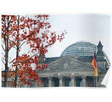 Reichstag building , Berlin Poster