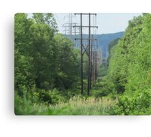 Powered Nature Canvas Print