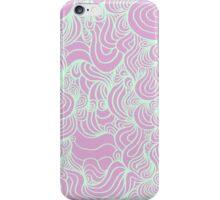 PSYCHOLINES Phone Case- Pastel Lavender/Pastel Green iPhone Case/Skin