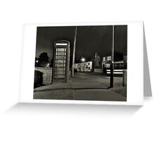 The Village Telephone Greeting Card