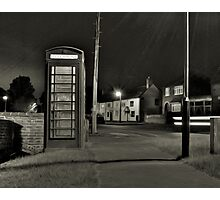 The Village Telephone Photographic Print