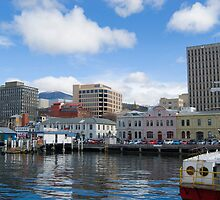 hobart waterfront by photoeverywhere