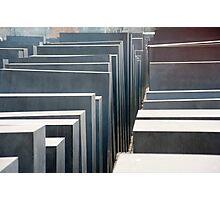 stone cubes Photographic Print