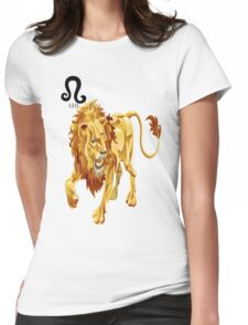LEO 3D Womens Fitted T-Shirt