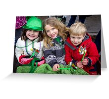 Irish Beauties Greeting Card