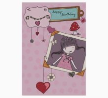 Birthday card One Piece - Short Sleeve