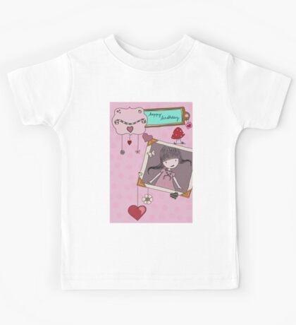 Birthday card Kids Tee