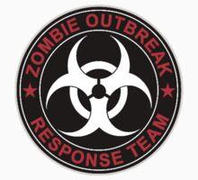 Walking Zombie Response Team Logo Walkers Dead by 8675309