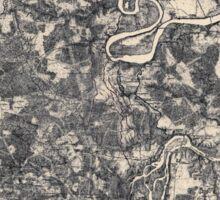 Civil War Maps 0186 Bermuda Hundred 1864-1865 Sticker