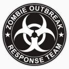 Zombie Outbreak Response Team Logo by 8675309