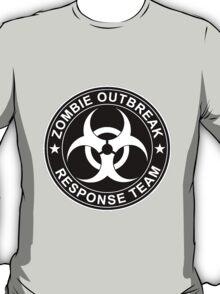 Zombie Outbreak Response Team Logo T-Shirt