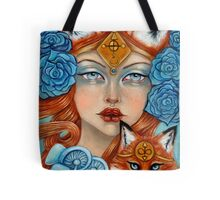 The Fox Maiden Tote Bag