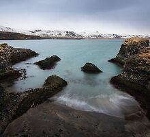 blue sea by JorunnSjofn Gudlaugsdottir