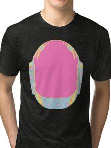 Daft Punk Guy Manuel Helmet Tri-blend T-Shirt
