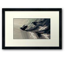 Stormbringers Framed Print