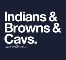 Loyal to Cleveland (White Print) T-Shirt