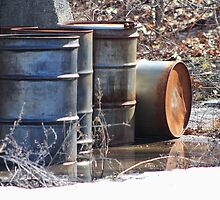 Old Barrels #1 by Gilda Axelrod
