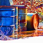 Old Barrels #2 by Gilda Axelrod
