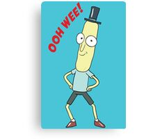 Mr. Poopy Butthole, Ooh Wee! Canvas Print
