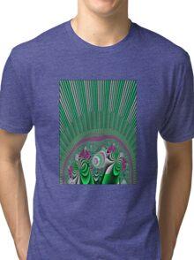 A Burst of Spring Tri-blend T-Shirt
