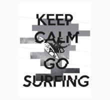 'Keep Calm and Go Surfing' Kids Tee