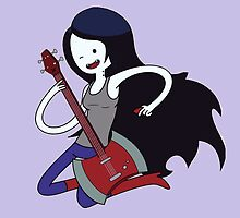 Marceline - Adventure time by elektro