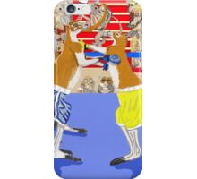 The Boxers iPhone Case/Skin