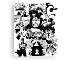 The Strawhats Canvas Print
