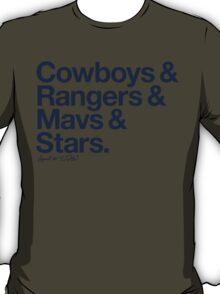 Loyal to Dallas (Navy Print) T-Shirt