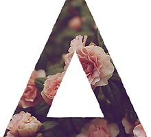 Bastille floral logo triangle shirt by Elianne