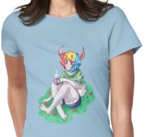 Bunny Girl. Womens Fitted T-Shirt