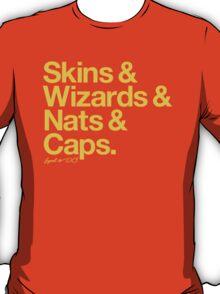 Loyal to D.C. (Goldenrod Print) T-Shirt
