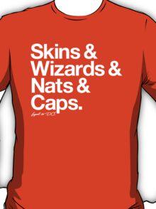 Loyal to D.C. (White Print) T-Shirt