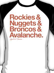 Loyal to Denver (Orange Print) T-Shirt