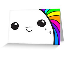 WHOA - Rainbow Greeting Card