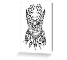 Night Owl gets the Vibe Greeting Card
